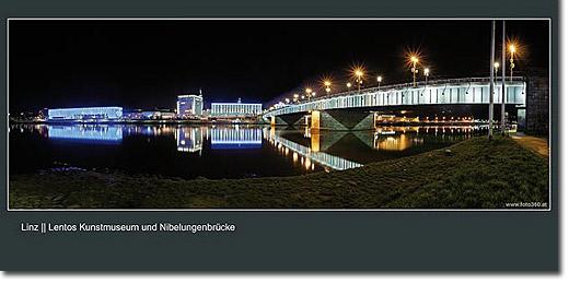 Postkarten/Ansichtskarten Linz Postkarte Donaulände Lentos Linz