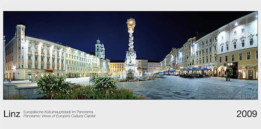 Linz - Europäische Kulturhauptstadt im Panorama
