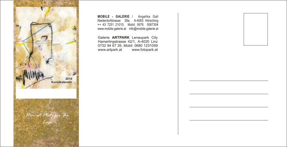 Künstlerkalender 2010 Gemälde, Zeichnungen & Skulpturen / Calendar 2010