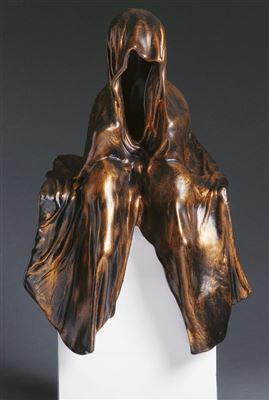 art auction schlosser bamberg antique contemporary art modern design sculpture waechter der zeit guardians of time by manfred kielnhofer