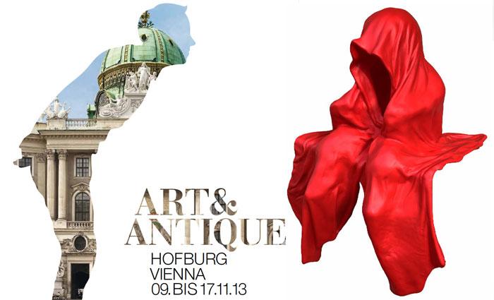 art-and-antique-hofburg-vienna-fair-kunst-und-antiquitaeten-messe-wien-galerie-kunsthandel-freller-guardians-waechter-sculpture-manfred-kielnhofer